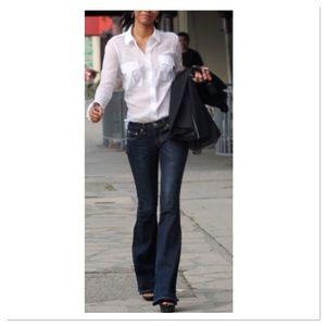 Dark indigo Bootcut Jeans